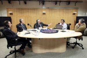 Ruggero Po | Radio1, 2012 - con Gianni PITTELLA, Mario MAURO, Niccolo RINALDI al Parlamento Europeo
