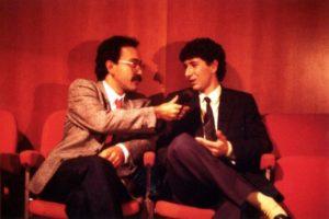 Ruggero Po | Radio Bruno, 1982 con Fabio Fazio