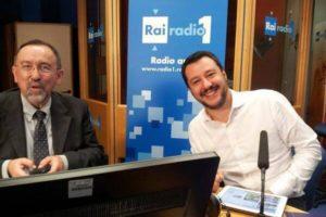 Ruggero Po | Con Matteo Salvini a Radio Anch'Io