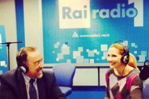 Ruggero Po | Con Lorella Cuccarini a Radio Anch'Io