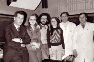 Radio Capodistria, 1973 insieme ai colleghi