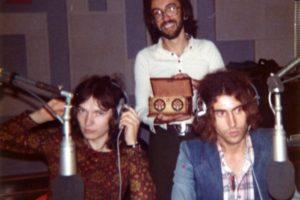 Radio Capodistria, 1973 inisieme a Red Canzian e Stefano d'Orazio