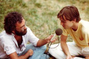 Radio Bruno, 1984 con Miguel Bose'