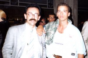 Radio Bruno, 1984 con Eros Ramazzotti