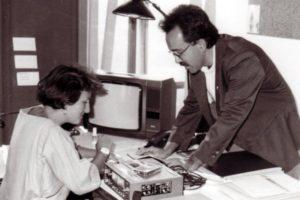 Ruggero Po | Con Flavia Fratello a Modena Radio City, Direttore dal 1989 al 1991