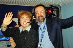 Ruggero Po | Festival di Sanremo 2004, con Carlotta Tedeschi