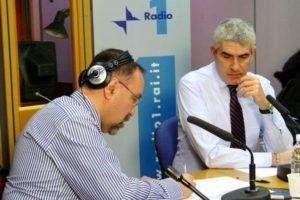 Ruggero Po | Con Pierferdinando Casini a Radio Anch'Io