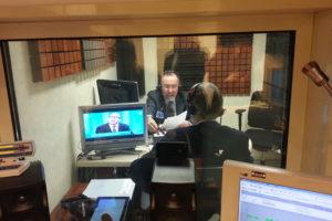 Ruggero Po | Radio Anch'Io, Aprile 2014 - diretta da Montecitorio