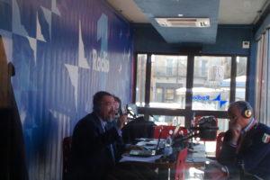 Ruggero Po | Radio1, Aprile 2010 - diretta dalla piazza dell'Aquila