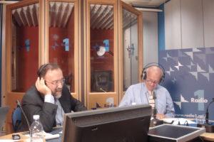 Ruggero Po | Con Fausto Bertinotti a Radio Anch'Io
