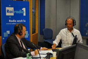 Ruggero Po | Con Angelino Alfano a Radio Anch'Io