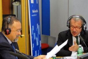 Ruggero Po | Con Roberto Maroni a Radio Anch'Io