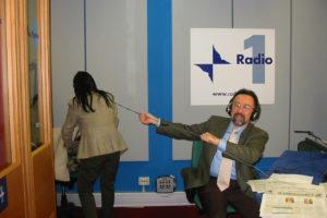 Ruggero Po | GR1, con Emanuela Falcetti
