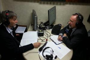 Ruggero Po | Con il Ministro Delrio a Radio Anch'Io