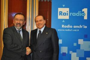 Radio Anch'Io, con Silvio Berlusconi
