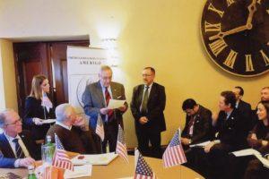 Premio Amerigo 2014 per l'impegno riguardante l'informazione sugli Stati Uniti