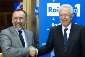 Radio Anch'io, con Mario Monti