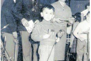 """1958 - Carnevale alla Palestra Comunale di Carpi, io cantai """"La casetta in Canadà"""""""